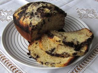 Bögrés kalács az otthoni sütőből