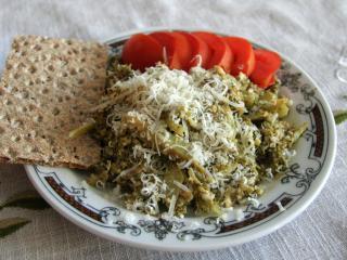 Tojásos brokkoli