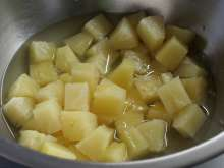 Összemixeljük az ananászt