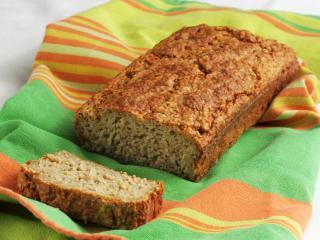 Nem kelt tésztás kenyér zabpehelyből