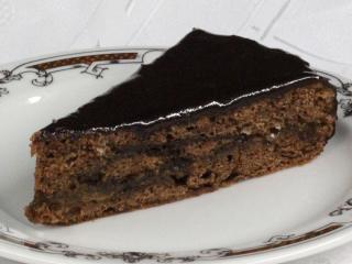 Egyszerű Sacher torta