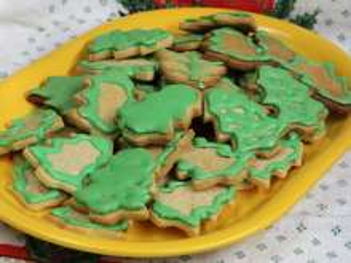 Marcipános karácsonyfák