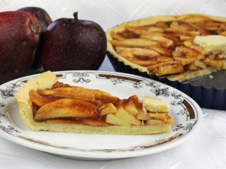 Fahéjas almás kalács
