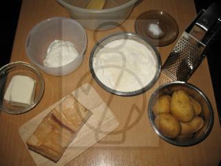 A sztrapacska tészta elkészítése