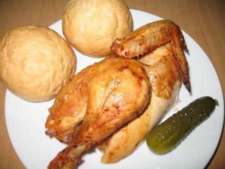 Ropogós csirke