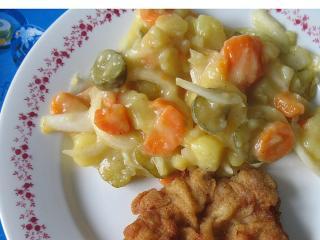 Nyári krumplisaláta