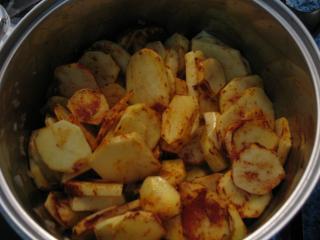 A krumpli főzése