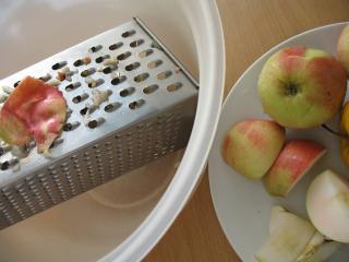 Az alma elkészítése