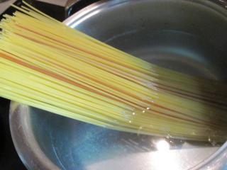 A spagetti elkészítése