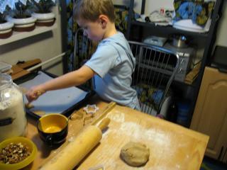 A mézeskalácsok sütése