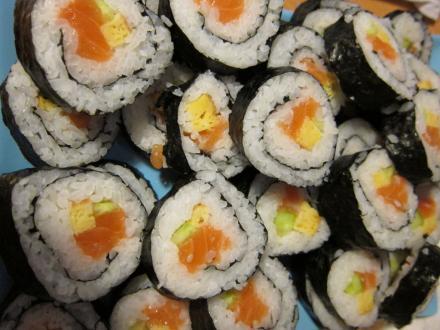 Házi sushi