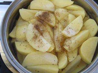 A burgonya elkészítése