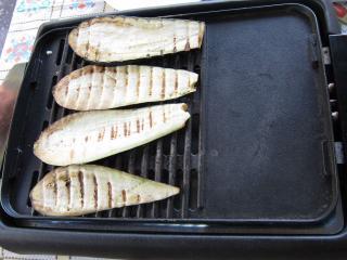 A padlizsán grillezése