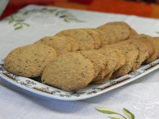 Diós-magvas keksz