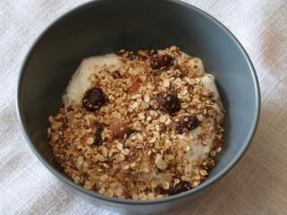 Mogyorós granola