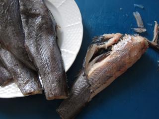 A hal elkészítése