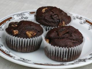 Banános - csokoládés muffin