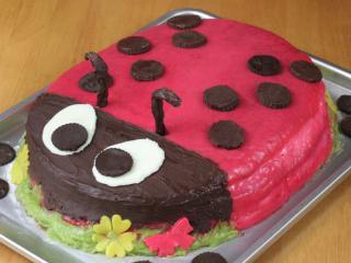 Katica bogár torta