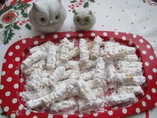 Kókuszos száraz sütemény