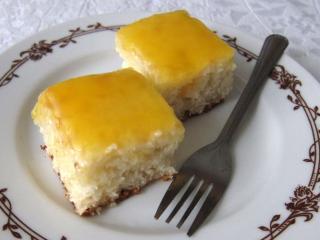 Kókuszos-narancsos sütemény
