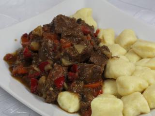 Zöldséges marhahús
