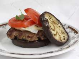 Padlizsánburger