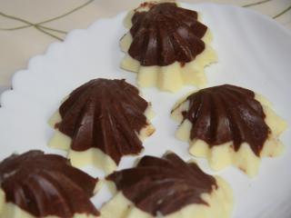 Kétszínű csokoládé