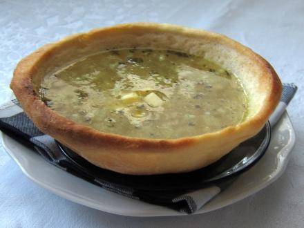 Fokhagyma leves krumplival