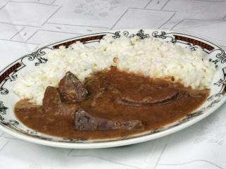 Sertésmáj recept