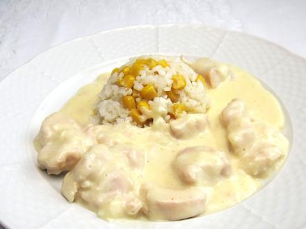 Csirkemell sajtszószban