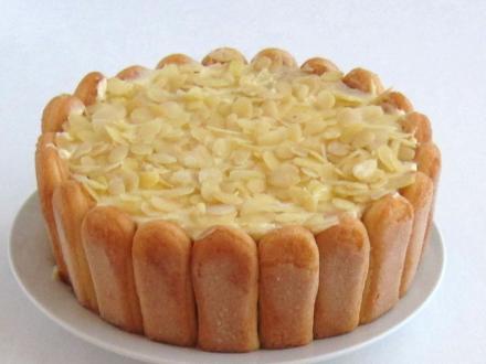 Malakoff torta mascarponeval