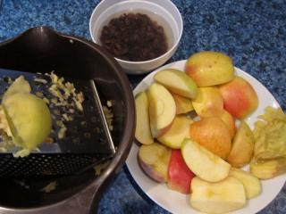 Almás töltelék