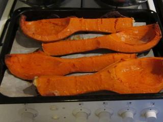 Sütőtök püré készítése