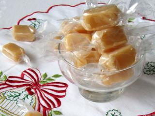 Mézes karamellás cukorkák