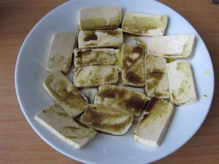 A tofu elkészítése