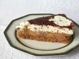 Sütés nélküli almás-mascarpone torta