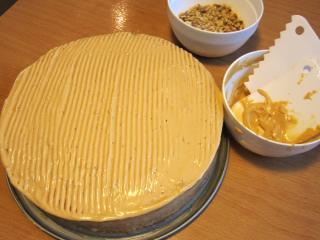 Torta díszítése