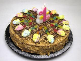 Születésnapi mézes torta