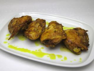 Kurkumás csirkehús