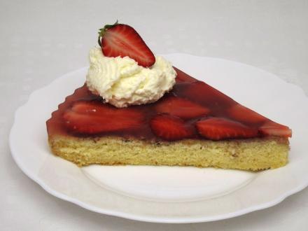 Epres sütemény agar- agar zselatinnal.