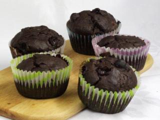 Szilvás, szőlős muffin