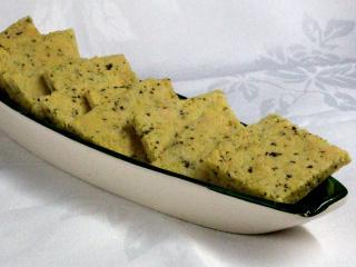 Rozmaringos mandulás kekszek