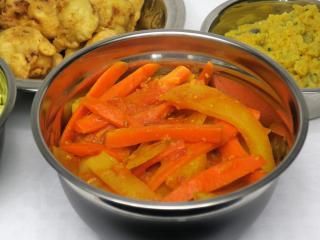 Paradicsomos krumplis- répás szabdzsi