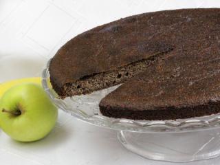 Mákos gyümölcsös süti