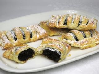 Mákos-lekváros gyors rácsos sütemény