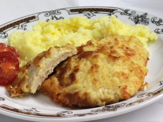 Fokhagymás gyömbéres csirke szeletek