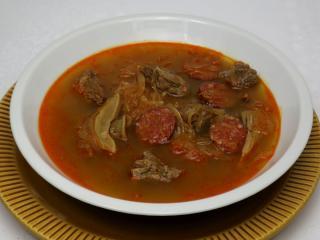 Káposztaleves marhahússal