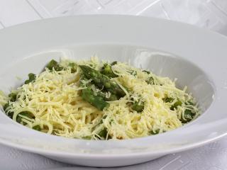 Spárgás spagetti