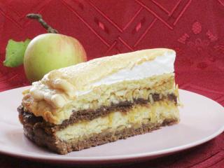 Finom almás torta