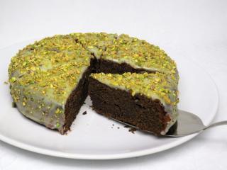 Csokoládés mákos torta